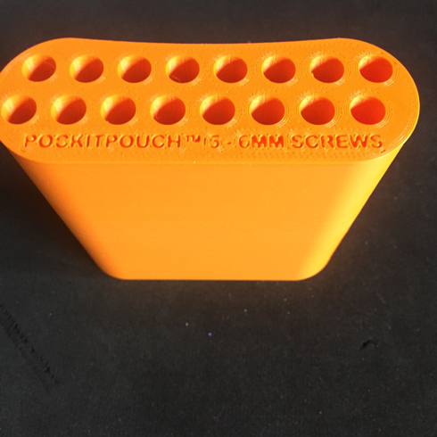 Large 87mm version for screw thickness top section 5mm - 6mm / base section 5mm - 6mm